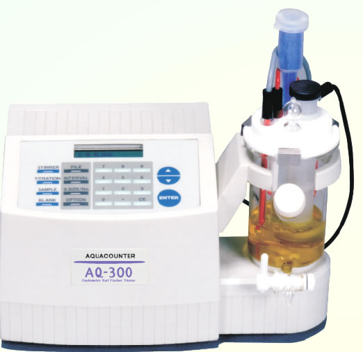 Coulometric Karl Fischer Titrator AQ-300