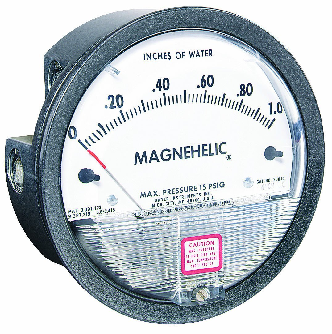 Dwyer Magnehelic Differential Pressure Gage