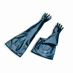 Neoprene Lead-Loaded Glovebox Gloves