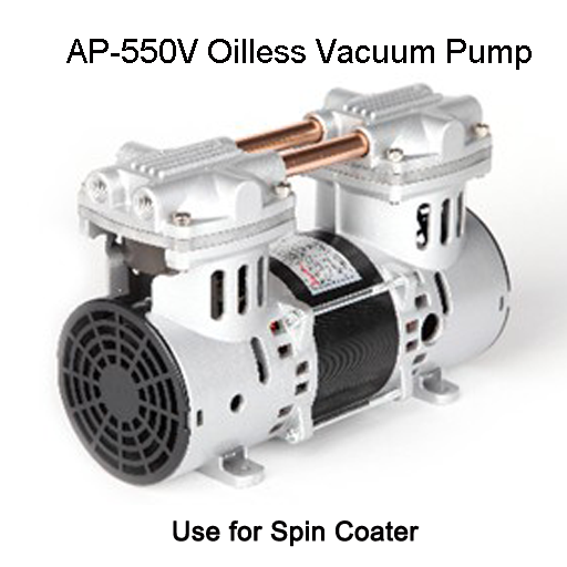 92L/min Oilless Vacuum Pump AP-550V,Use for Spin Coater