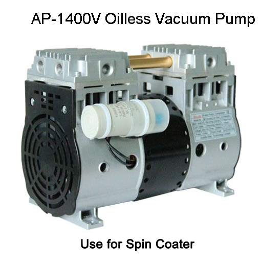 120L/min Oilless Vacuum Pump AP-1400V,Use for Spin Coater